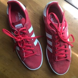 Adidas Campus Red Sneakers